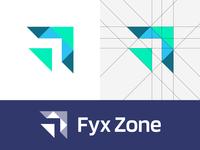 Fyx Zone - Logo Design Exploration