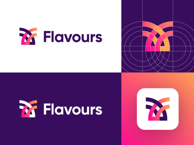 Flavours - Logo Design Exploration