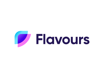 Flavours - Logo Design Color Variation
