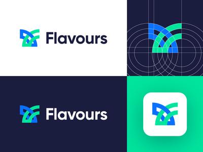 Flavours - Logo Design Variation