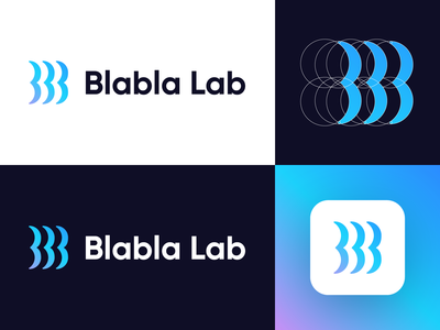 Blabla Lab - Logo Design (Version 02)