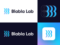 Blabla Lab - Logo Design (Version 02)