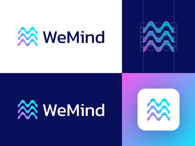 WeMind - Logo Design Variation