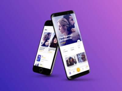 🎞 Cinema App UI