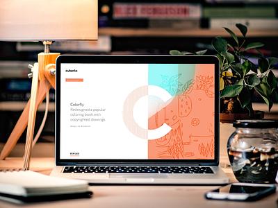 💻 Cuberto website placeit smartmockups template mockup macbook web design website inspiration ui