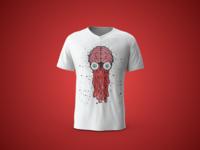 🦑 T-shirt design