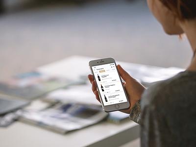 🍷 Wine Searcher mockup template smartmockups placeit mobile ui iphone 8 interface