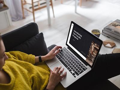 👄 DSA Clinic placeit smartmockups template mockup macbook pro web design website inspiration ui