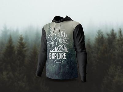 🕺 Full cover hoodie mockup template smartmockups placeit apparel print hoodie