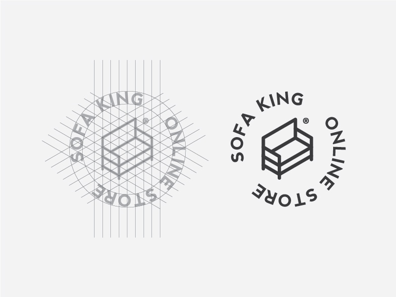 Sofa King Logo Design Construction By Giorgos Stathopoulos