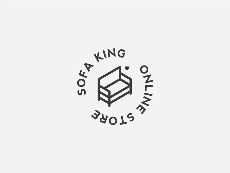 Sofa King Logo Design In Black By Giorgos Stathopoulos Dribbble