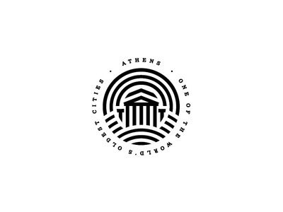 Athens city badge