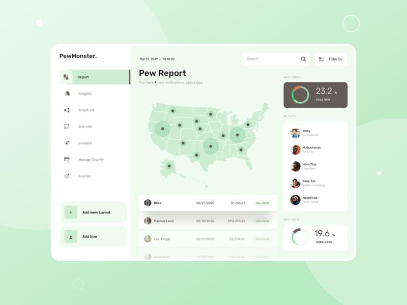 Pew Report - Web App