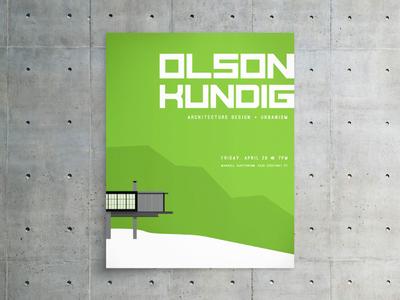 Olson Kundig Event Poster