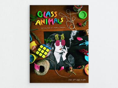 Glass Animals Concert Poster