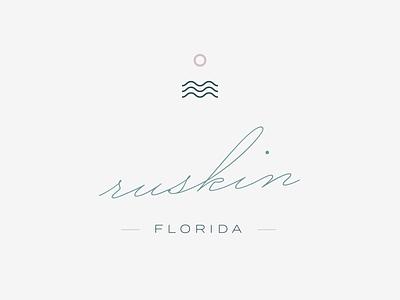 Ruskin florida water logo