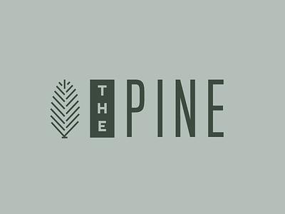 The Pine Bed and Breakfast Logo branding logo