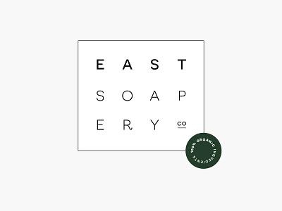 East Soapery Co. brand branding logo