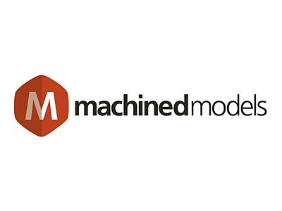 Machined Models Logo logo branding