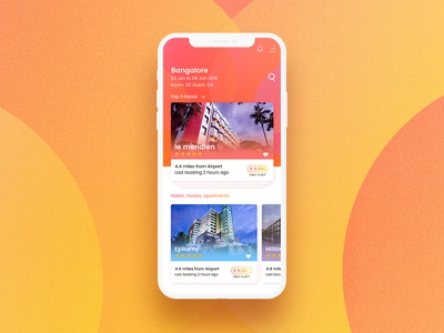 App design   Hotel booking material design ui kit iphonex ios ui design android minimal shibupavizha latest mobile app best ux app design hotel booking ui