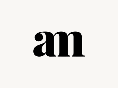 Personnal Logo branding monogram design logo