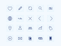 Wireframing Icons