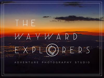 The Wayward Explorers photography logo adventure articles