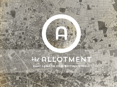 The Allotment branding logo identity