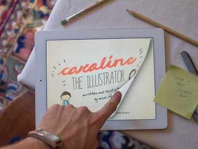 Caroline The Illustrator caroline app ipad book illustration childrens book