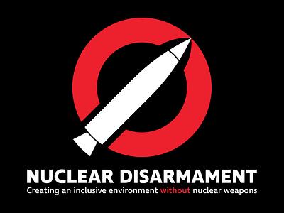 Nuclear Disarmament Primary Logo (For Sale) social movement toxic nuclear disarmament nuclear logomark logo mark logo design brand identity graphic design identity adobe illustrator bezzina designs