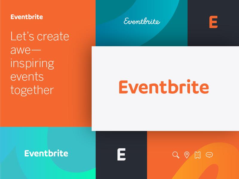Eventbrite evolution eventbrite graphic design rebrand identity logo brand branding design