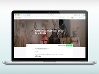 Eventbrite new brand touchpoint: Event listing