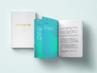 Eventbrite new brand touchpoint: Notebook