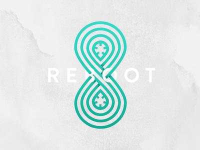 Reboot logo 8 reboot restart game logotype logo moebius cassette gobelins memory