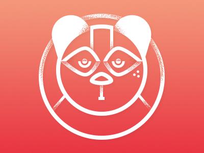 Panda logotype panda illustration animal