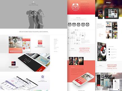 New website portfolio book website casestudies mobile iphone ipad