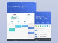 Deeply app - calendar
