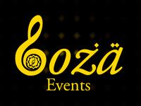Loza Events Logo Design