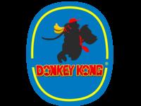 Donkey Kong Banana Company Logo