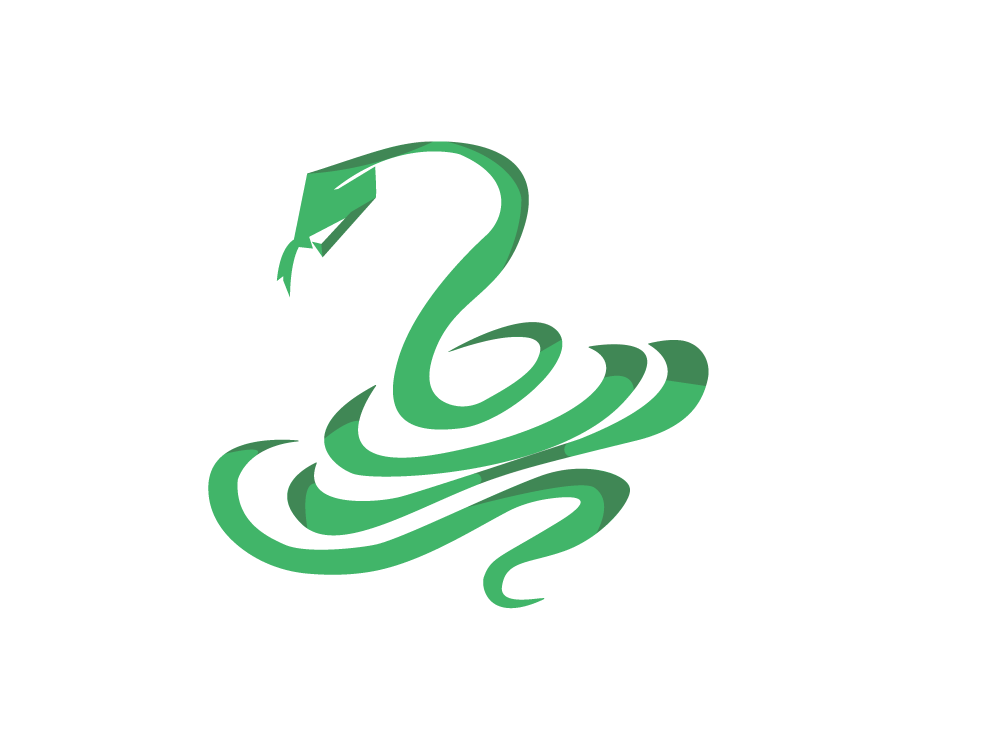Snake Talisman green designer illustrator icon digital color logo graphic vector design ancient adobe illustrator cc illustration animal snake china chinese culture new year 2019 chinese new year