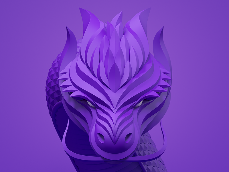 """Icon for our game """"Invisible Dragons"""" icon"""