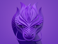 "Icon for our game ""Invisible Dragons"""