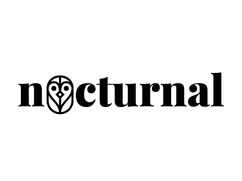 Image of: Entry Nocturnal Logo Dribbble Nocturnal Logo By Danny Wan Dribbble Dribbble