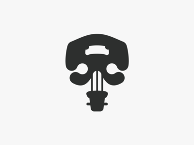 Musical Skull Logo