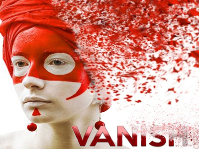 Vanish Photoshop Actions professional photoshop photomanipulation photo effect modern explode dissolve dispersion detailed atn advanced action