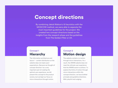 ANWB - Casestudy motion design for design systems