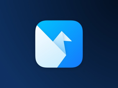 Origami macOS Big Sur replacement icon replacement icon icns big sur icon app icon