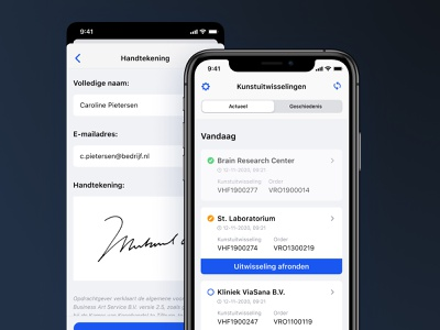 Business Art Service - Finish Up progress status complete finish up doing business corporate information today view card overview sheet modal listview tableview set signature signatures data utility ios native