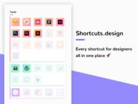 Shortcuts.Design still going strong 💪