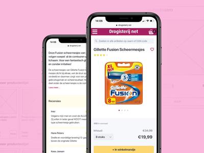 Pharmacy webshop - UX Design Student Portfolio portfolio student portfolio pink purple e-commerce webshop pharmacy webshop pharmacy product designer ux designer designer clean case study case casestudy